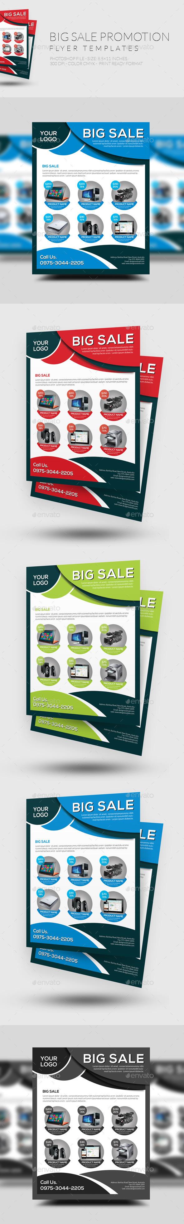 Big Sale Promotion Flyer - Commerce Flyers