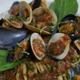 Mussels And Pasta - Seafood Dish - VideoHive Item for Sale