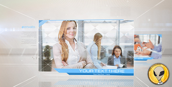 Corporate Abstract Displays