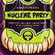 Halloween Nuclear Poster - GraphicRiver Item for Sale