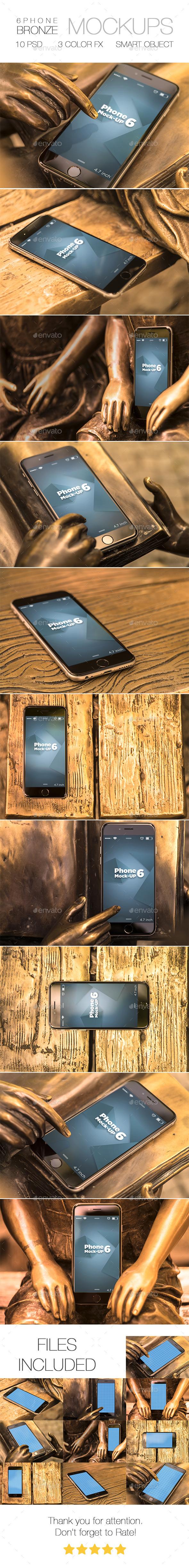 Bronze 6 Phone - Mobile Displays