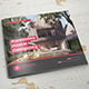 Thunder Architecture Square Brochure - GraphicRiver Item for Sale