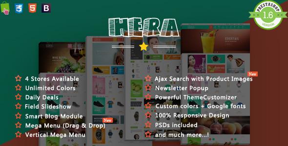 Hera- Responsive Prestashop Theme