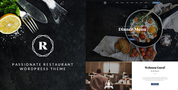 Restaurant – Restaurant, Cafe, Bar WP Theme