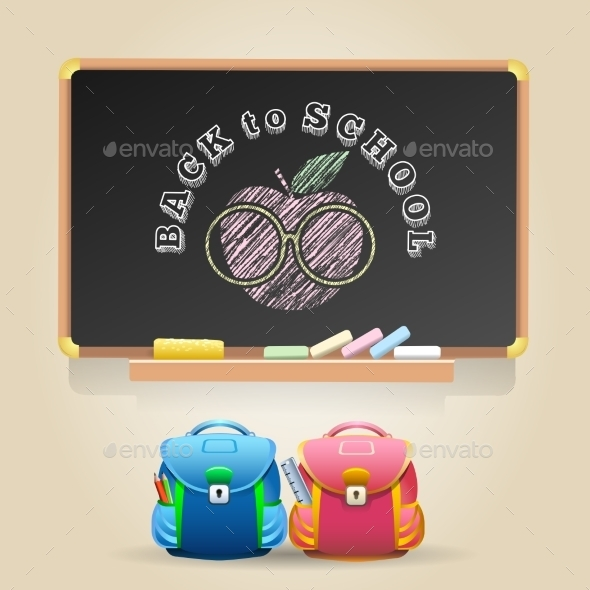 Back to School Theme - Miscellaneous Vectors