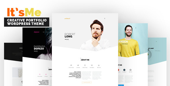 It's Me – Creative Portfolio WordPress Theme