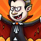 Dracula Vampire Cartoon Character Digital Painting - GraphicRiver Item for Sale
