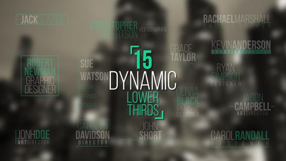 Dynamic Lower Thirds