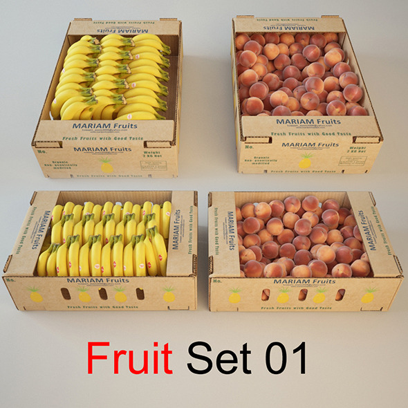 Fruit  - 3DOcean Item for Sale