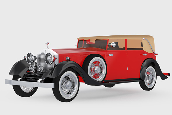 Rolls Royce Classic - 3DOcean Item for Sale