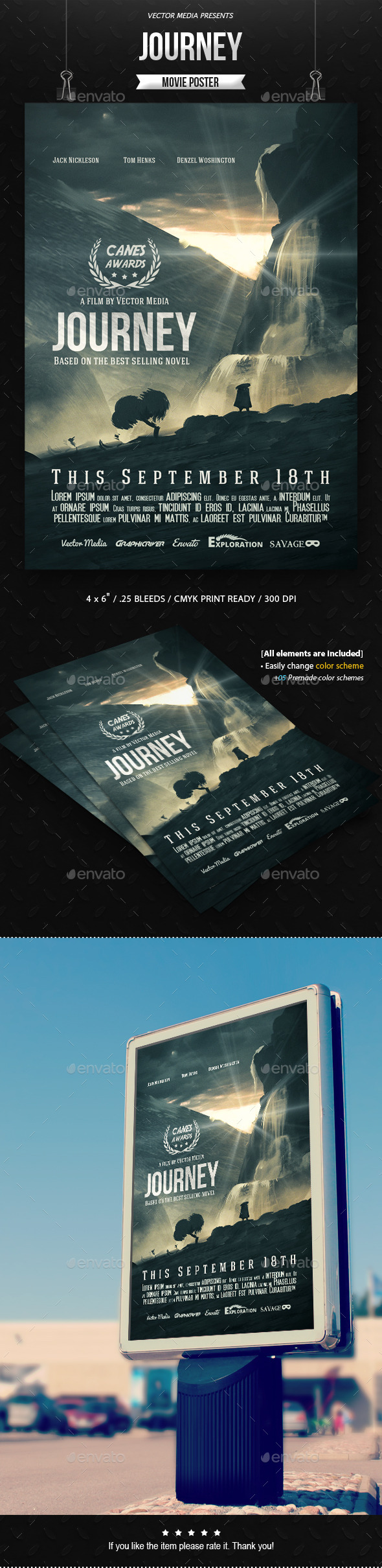 Journey - Movie Poster - Miscellaneous Events