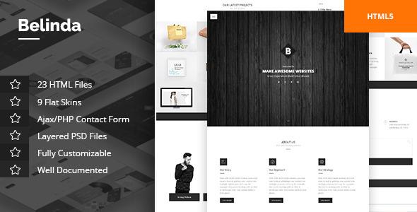 Belinda Agency & Portfolio Template