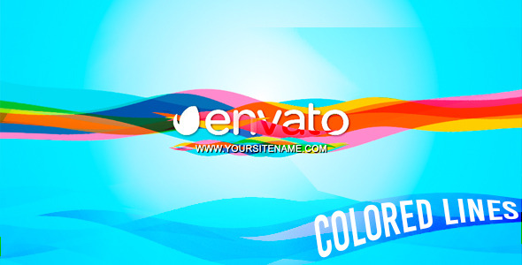 Colored Lines Logo