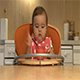 Baby Girl Eating - VideoHive Item for Sale