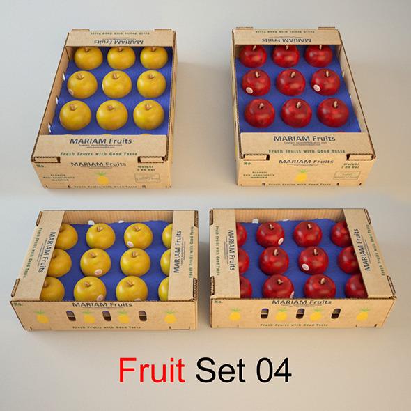 Fruit sit 04 - 3DOcean Item for Sale