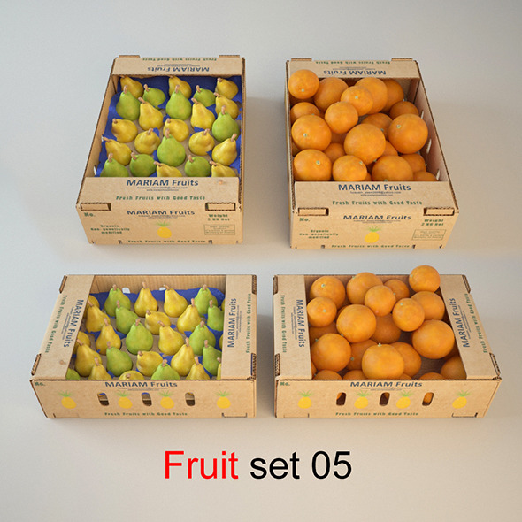 Fruit Set 05 - 3DOcean Item for Sale
