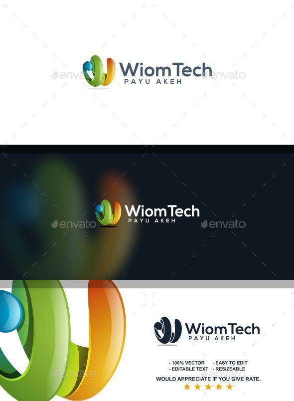 Wiom Tech W Letter