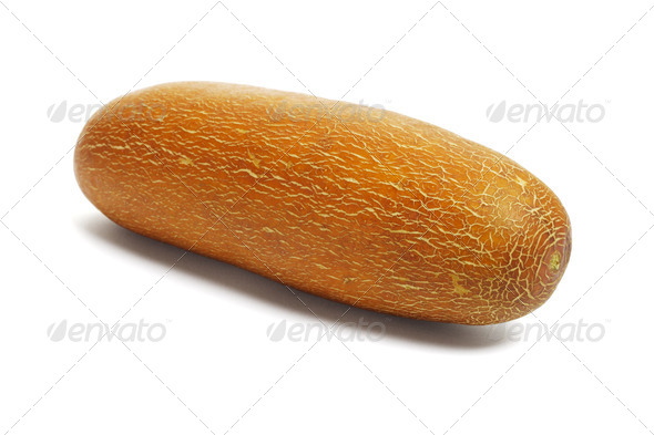 Chinese yellow cucumber - Stock Photo - Images