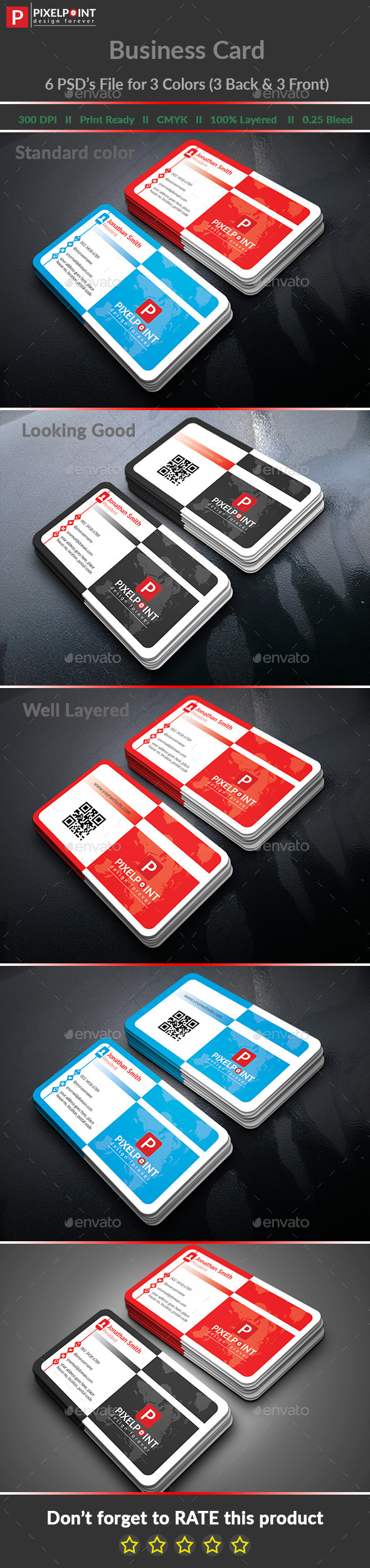 Stylish Personal Business Card - Business Cards Print Templates