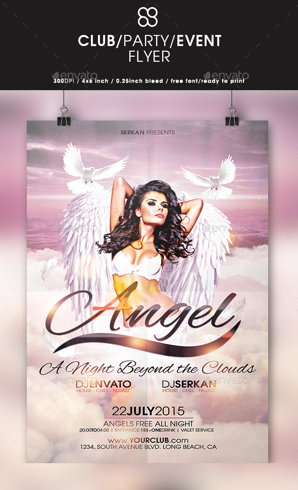 Angel Flyer  - Clubs & Parties Events