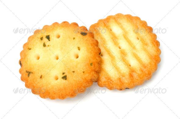 Vegetarian crackers - Stock Photo - Images