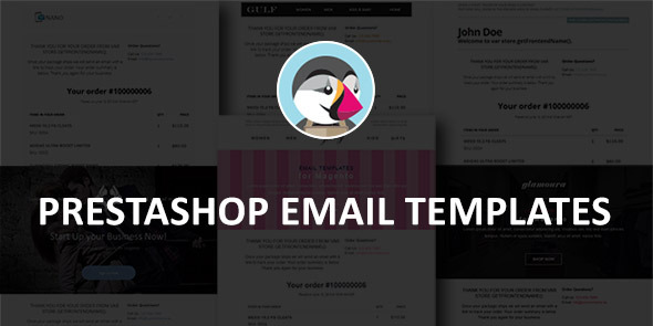 Prestashop Email Templates - CodeCanyon Item for Sale