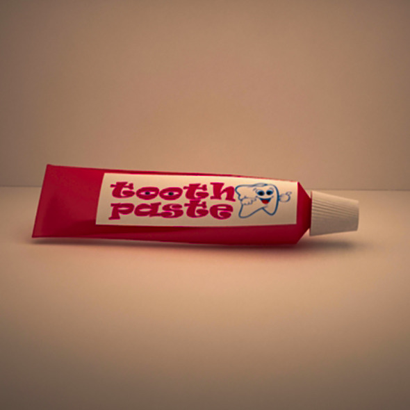 tooth paste - 3DOcean Item for Sale