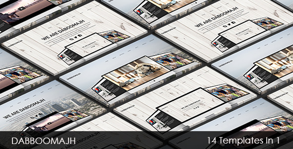Dabboomajh – Multi-purpose Muse Template