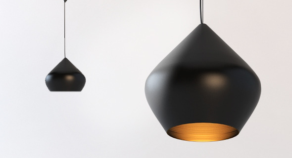 Modern Ceiling Lamp - 3DOcean Item for Sale