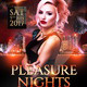 Pleasure Nights Flyer - GraphicRiver Item for Sale
