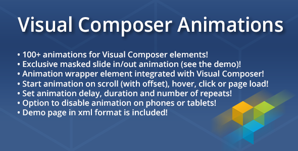 Visual Composer Animations - CodeCanyon Item for Sale