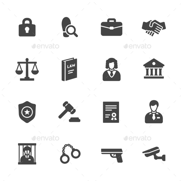Law Icons - Icons