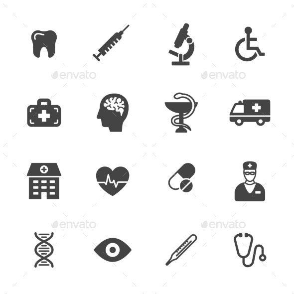 Medical Icons - Icons