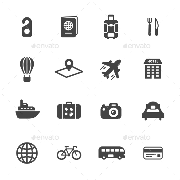 Travel Icons - Icons