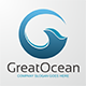 Great Ocean - Letter G Logo - GraphicRiver Item for Sale