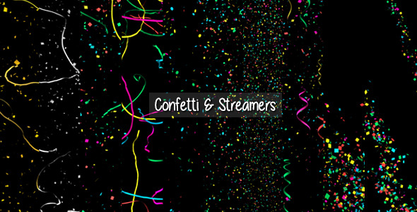 Confetti & Streamers Pack