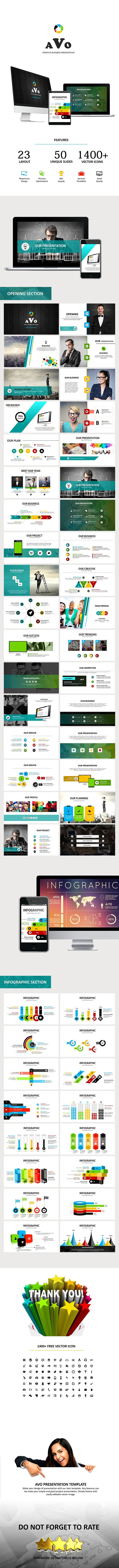 AVO - Keynote Business Presentation - Keynote Templates Presentation Templates