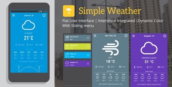 Simple Weather 5.0 - CodeCanyon Item for Sale