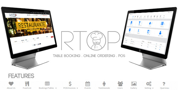 Restaurant Table Booking, Online Ordering & Pos - CodeCanyon Item for Sale