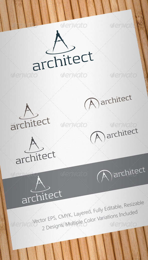 Architect Logo Template - Objects Logo Templates