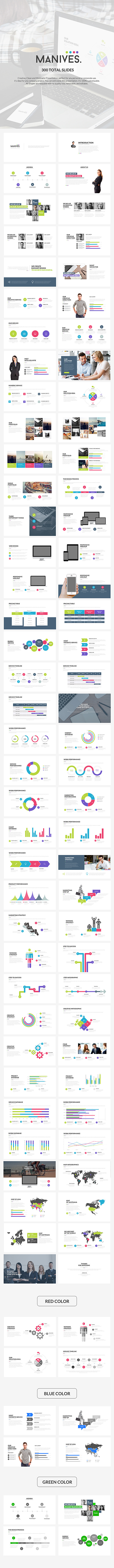 Manives Keynote Template - Business Keynote Templates