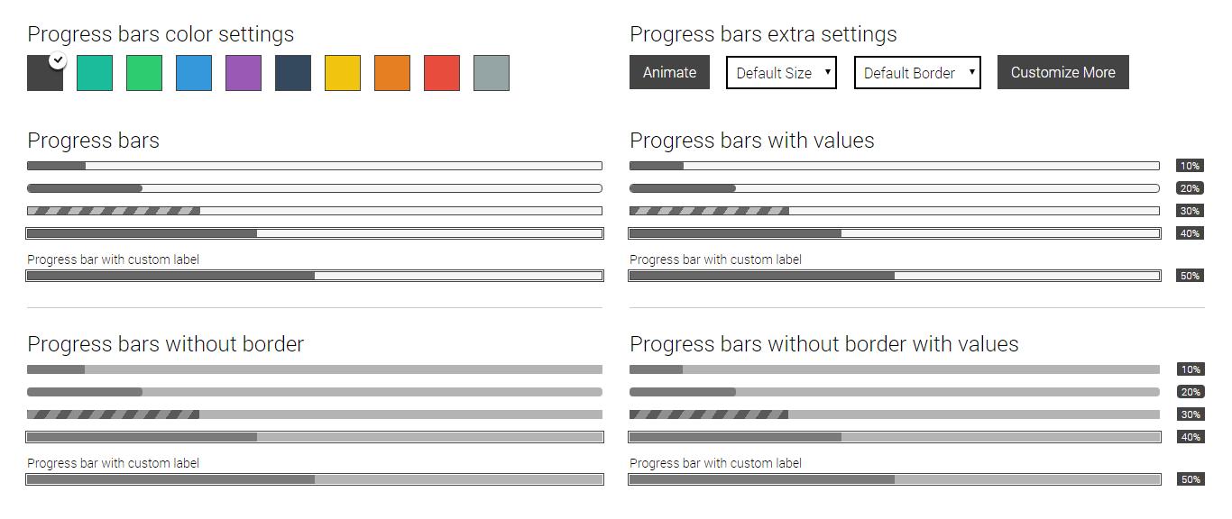 CSS3 Progress Bars