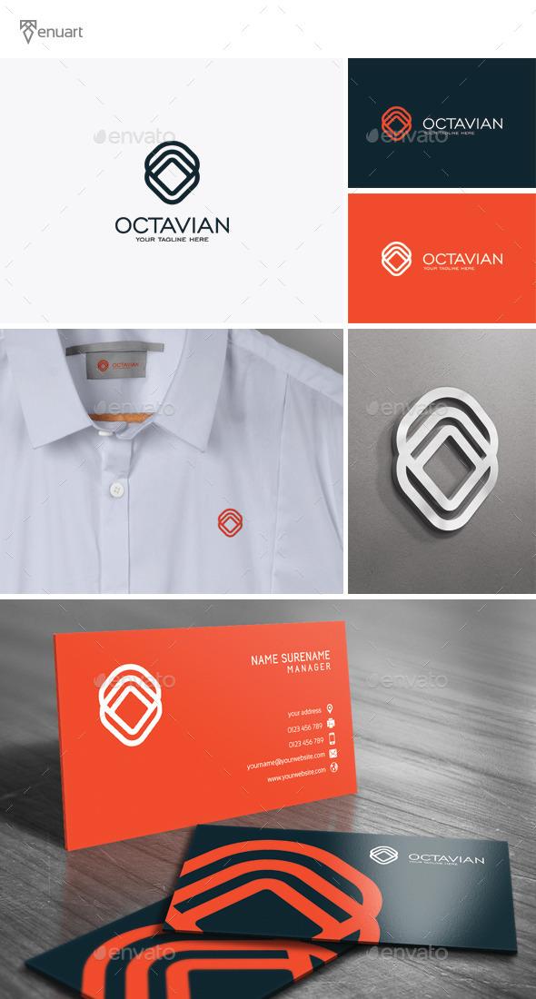 Octavian - Letter O Logo - Letters Logo Templates