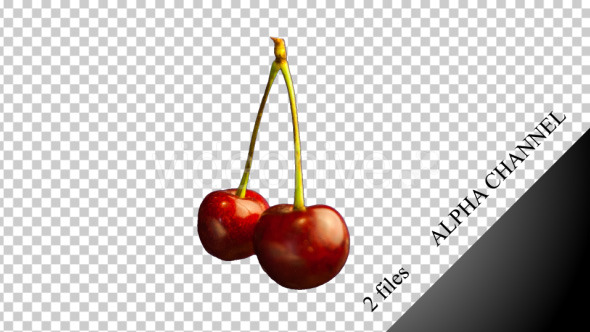 Two Cherries Spinning