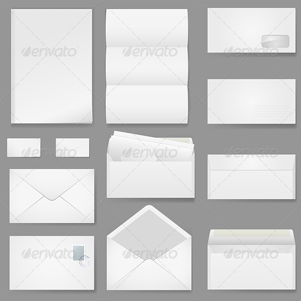 Office Paper of Different Types - Man-made Objects Objects