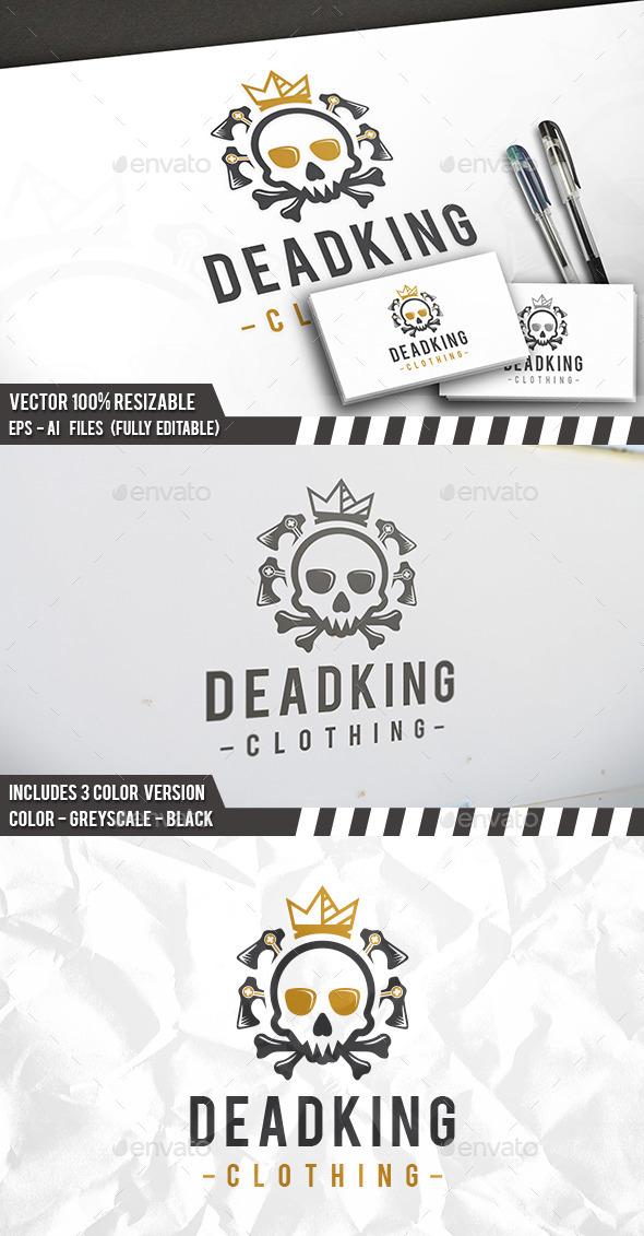 Dead King Logo - Humans Logo Templates