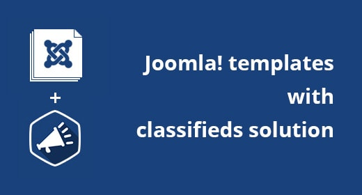 Classifieds Joomla templates