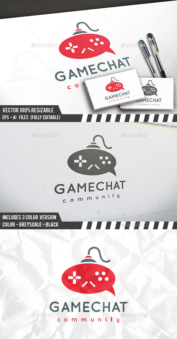 Game Forum Logo - Objects Logo Templates