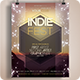 Indie Party Flyer / Poster Print Template  - GraphicRiver Item for Sale