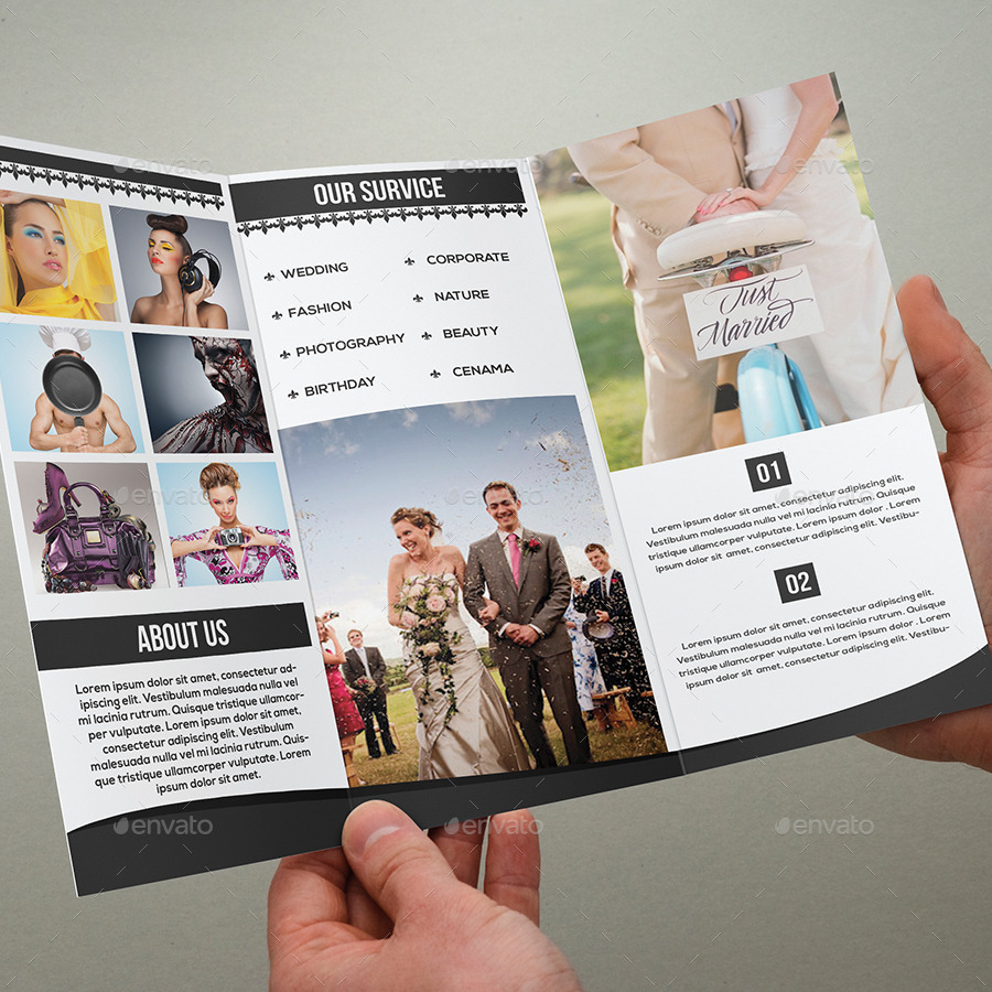 Wedding Photography Tri Fold Brochure Brochures Print Templates 01 Screenahot Jpg 02